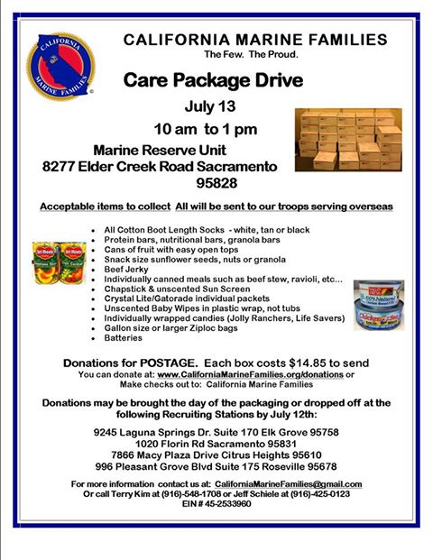 Care Package Drive