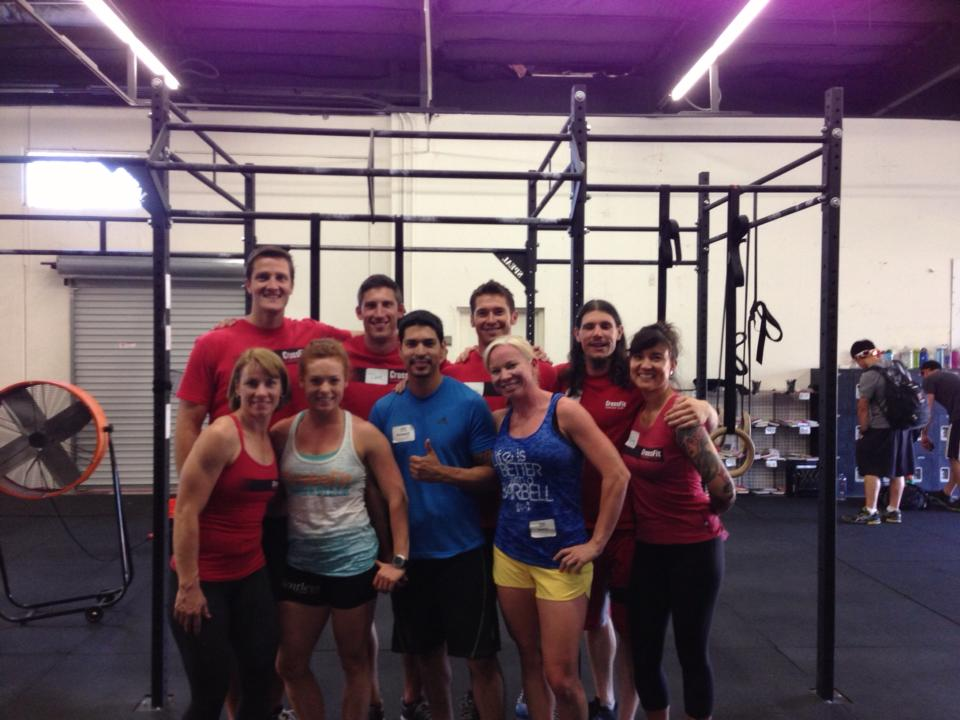 Ramon, Sara, and Jennifer attended the CrossFit Level 1 Trainers course at CrossFit SAC