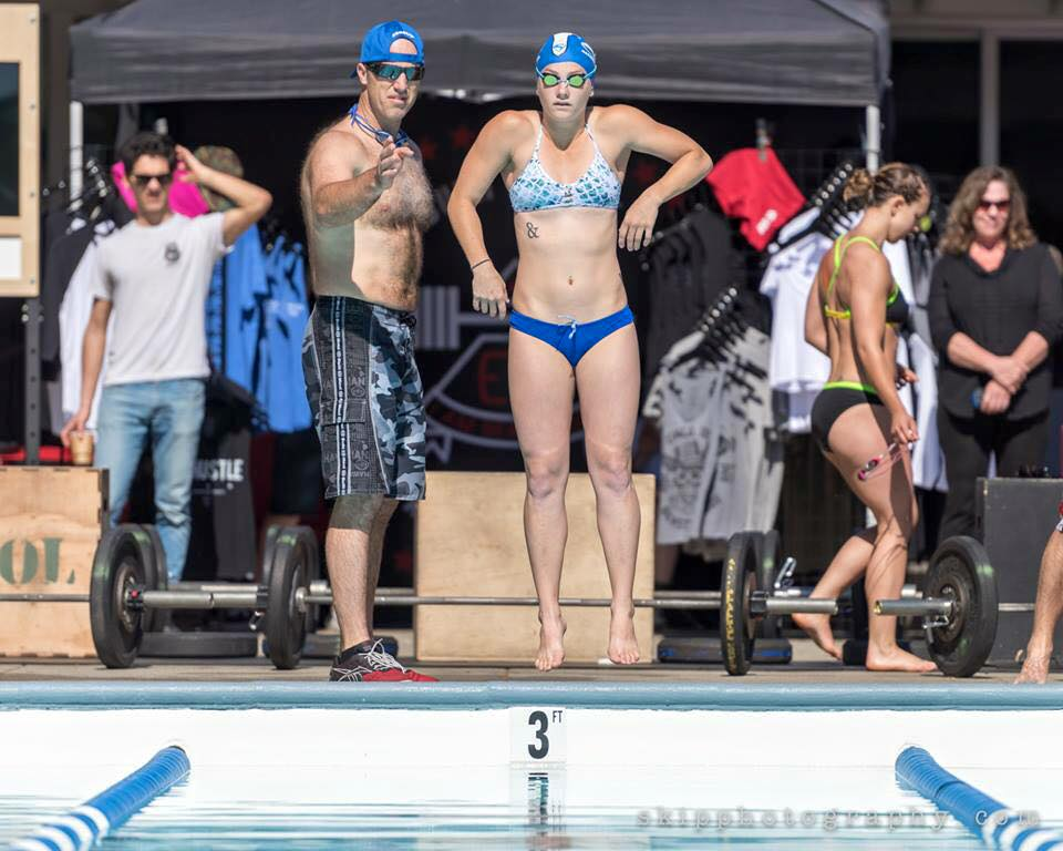 Justin & Carson at GoodTimes Swim Competition