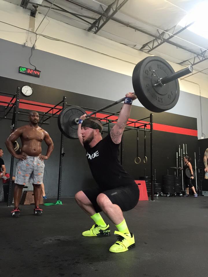 Nick 25-lb Snatch PR