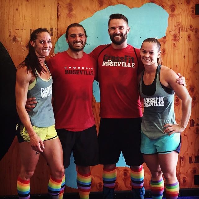 Tali, Kenny, Allison, Austin post Bring Color Back Competition