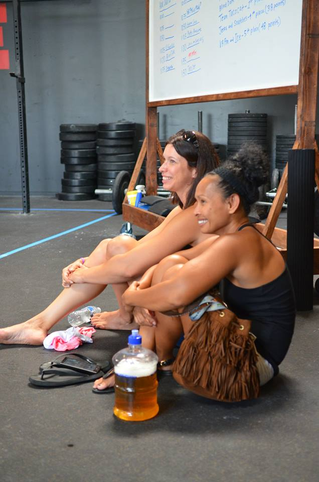 2015 Fittest of Roseville, April & Leay Chillin