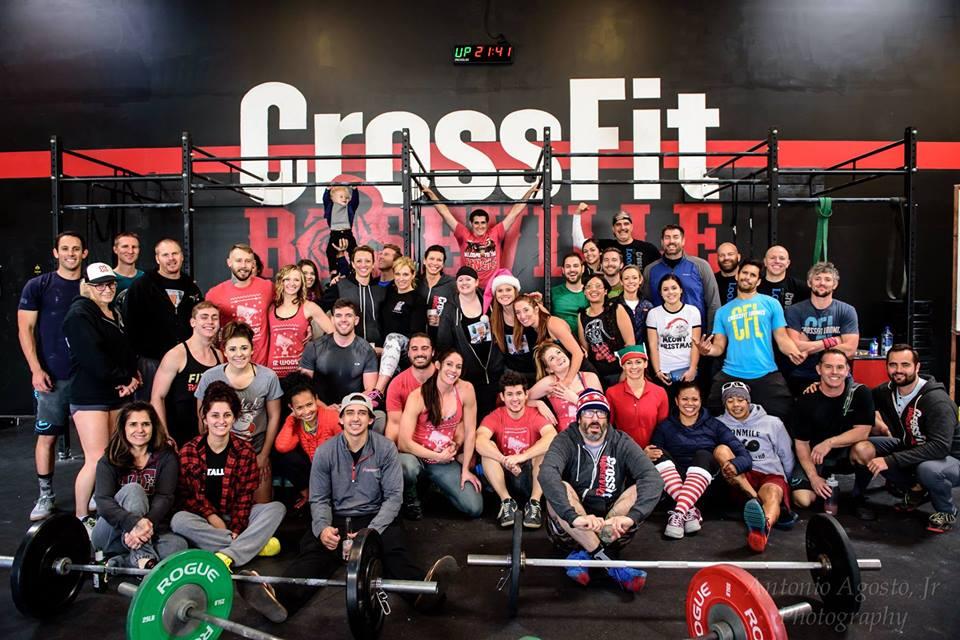 Roseville CrossFit 12 Wods of Christmas Shenanigans
