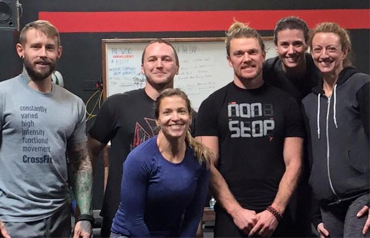2016 Roseville CrossFit Sactown Throwdown Team