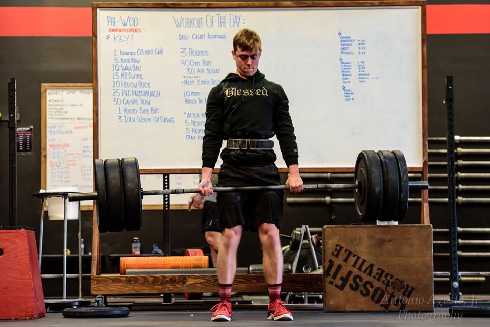 Roseville CrossFit Cody Jones