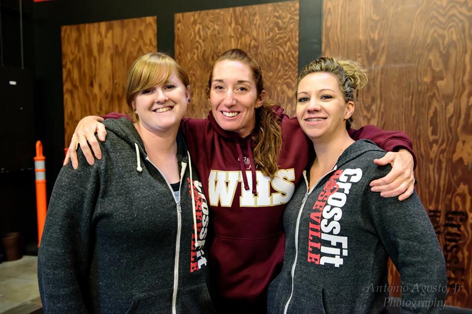 Roseville CrossFit Friends n hugs