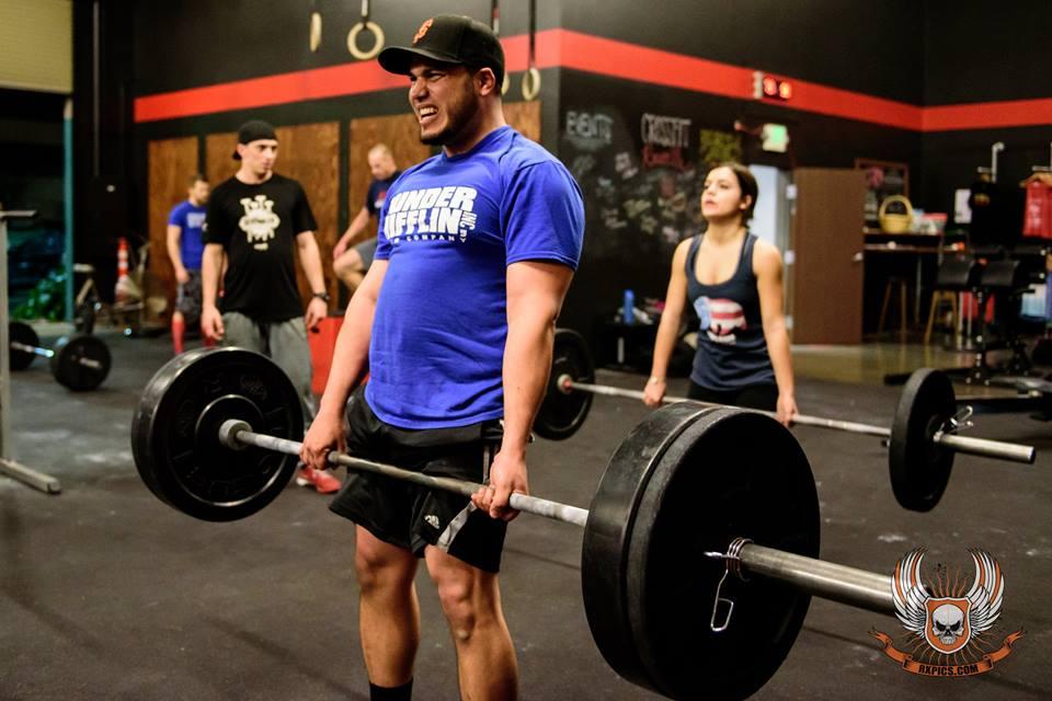 Roseville CrossFit Ricardo Deadlifts