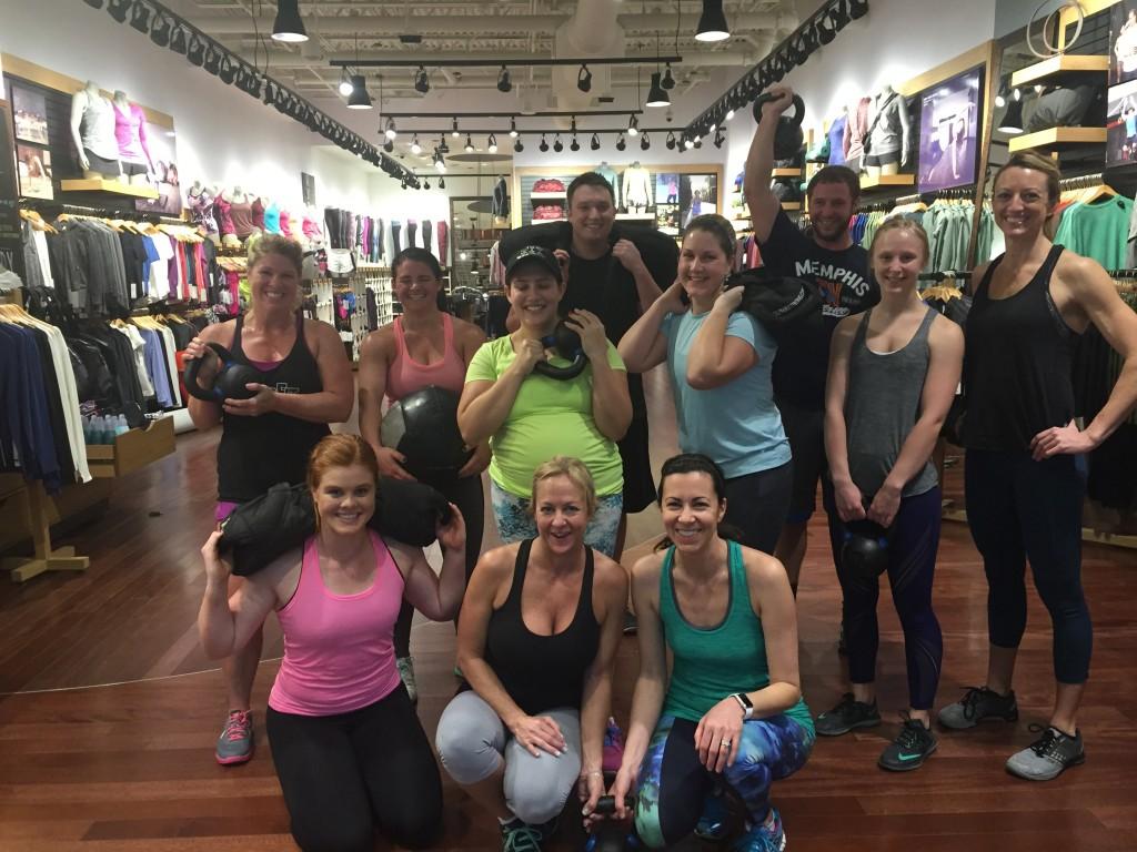 CrossFit Roseville at Lululemon Galleria