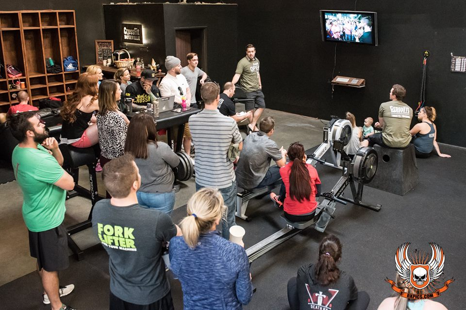 16.1 Open announcement at Roseville CrossFit