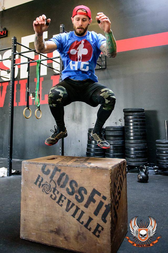 Jumping Jimmy Jones at Roseville CrossFit
