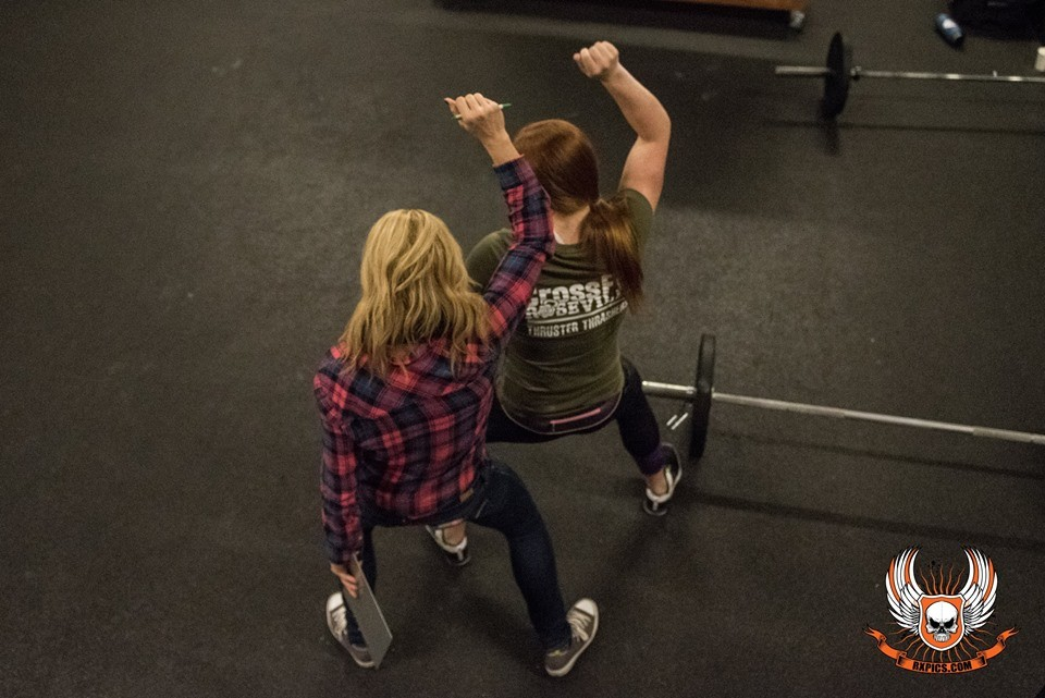 Janet and Lauren Getting Fierce at Roseville CrossFit