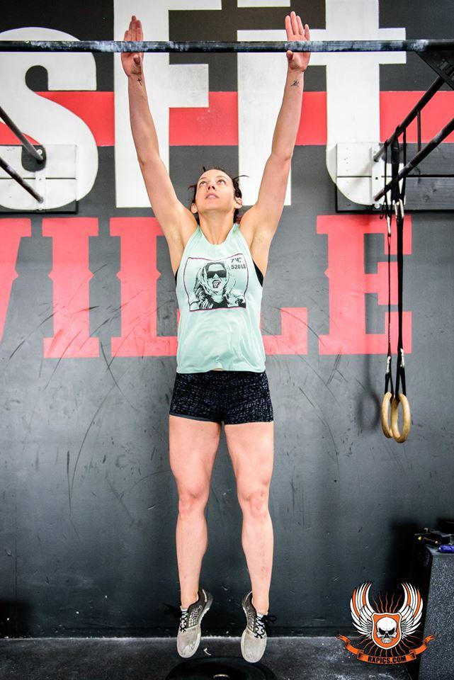 CrossFit Roseville 16.3 Kristin Jumps!