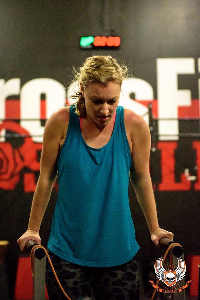 CrossFit Roseville Lauren Horst Dippin