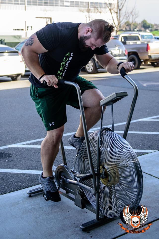 Aaron Hagman CrossFit Roseville Spin