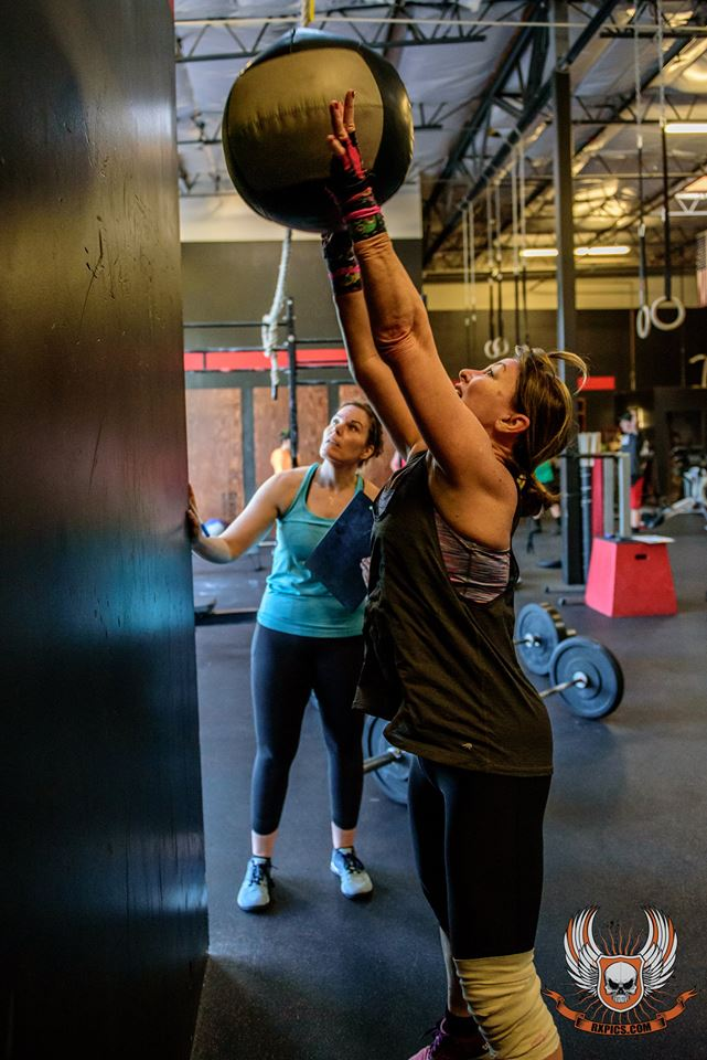 Sherry at CrossFit Rosevile