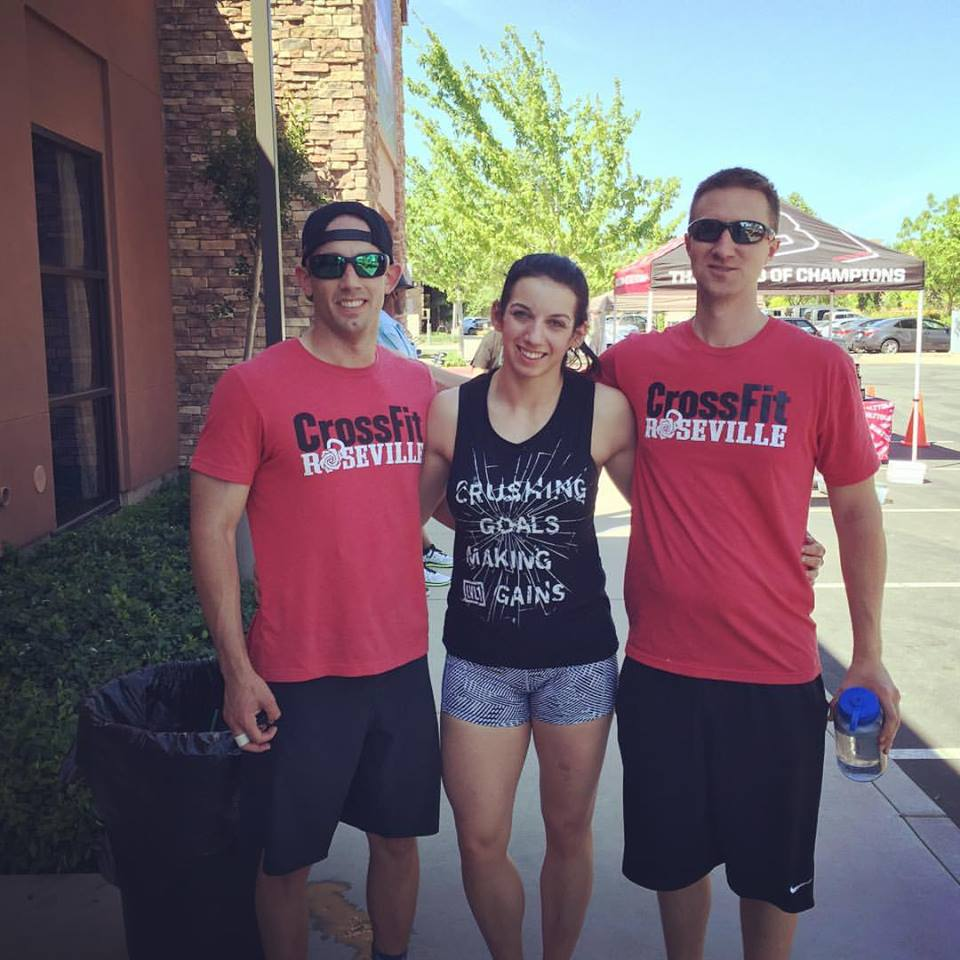 Kristin, Chris, Jeremy CrossFit Roseville