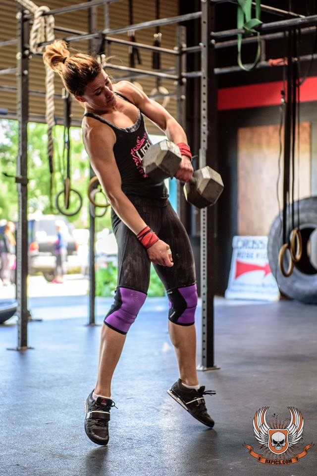 Ashley Albano at CrossFit Roseville Road to Regionals
