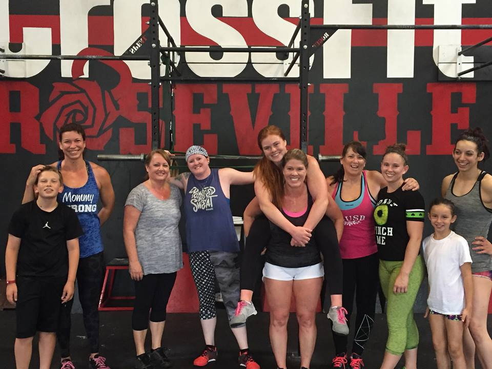 Happy Mother's Day 2016 @ CrossFit Roseville