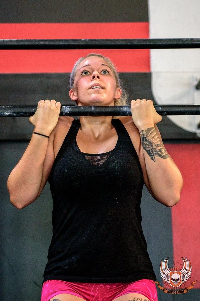 Britt Graves at Roseville CrossFit