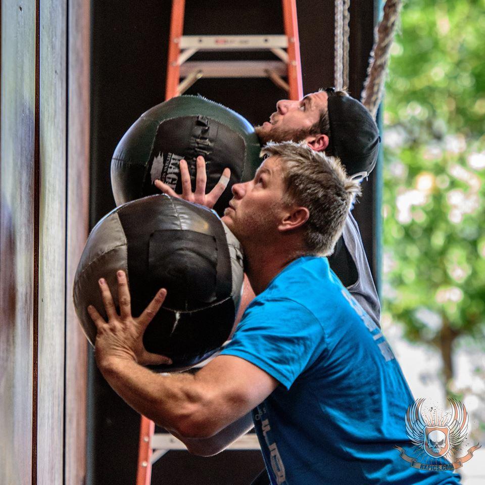 Jason Sheldon & Casey at Roseville CrossFit