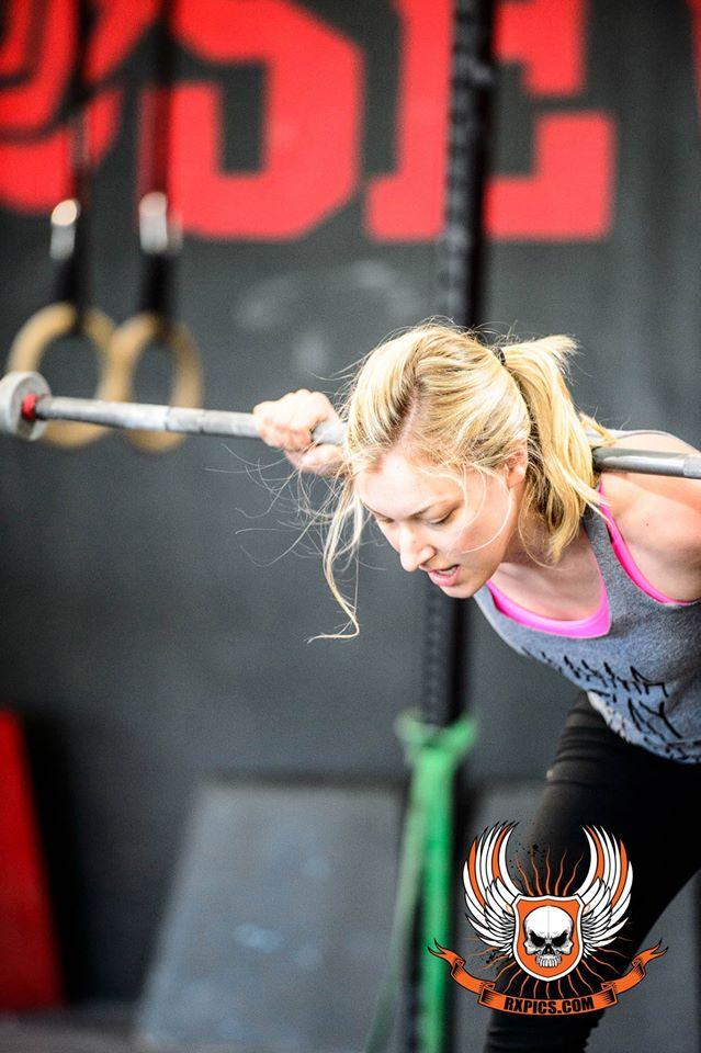 Lauren Horst at Roseville CrossFit