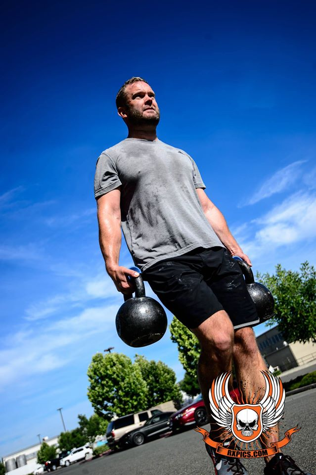 Brandon S. Farmer Carry at CrossFit Roseville