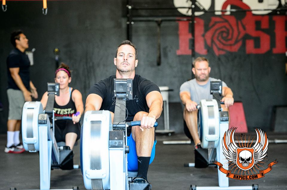 8am Rowing with William Willson at Roseville CrossFit