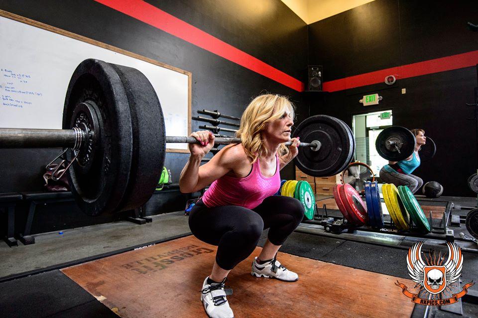 Janet Freeman Squat Like a Boss at CrossFit Roseville