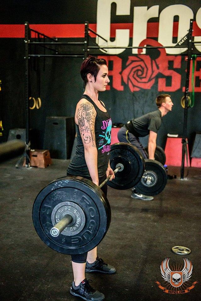 Erica Johnson CrossFit Roseville