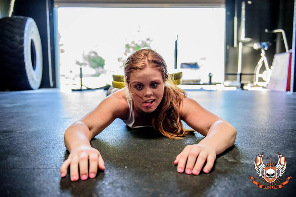 Lauren Coonce at Roseville CrossFit