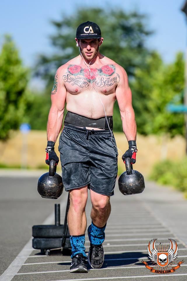 Casey O' Conner at CrossFit Roseville