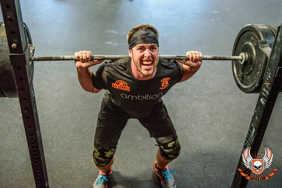 Curtis Morte, the struggle is real at CrossFit Roseville