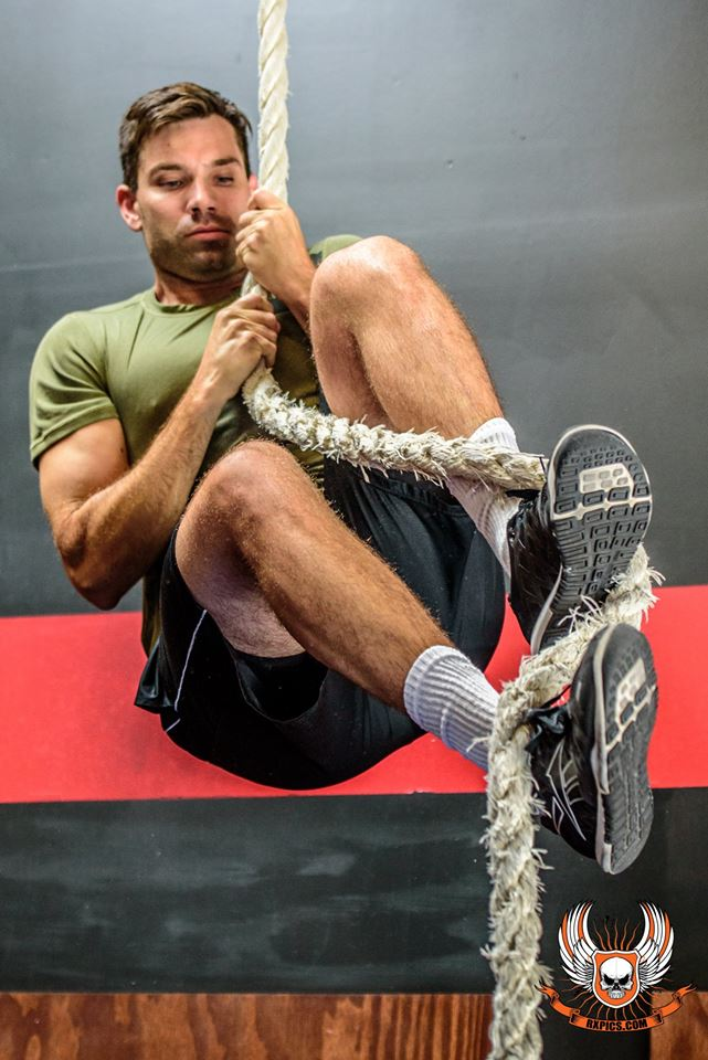 Chris Albano at Roseville CrossFit