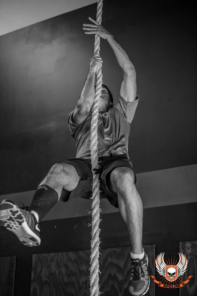 Legless Rope Climb at CrossFit Roseville