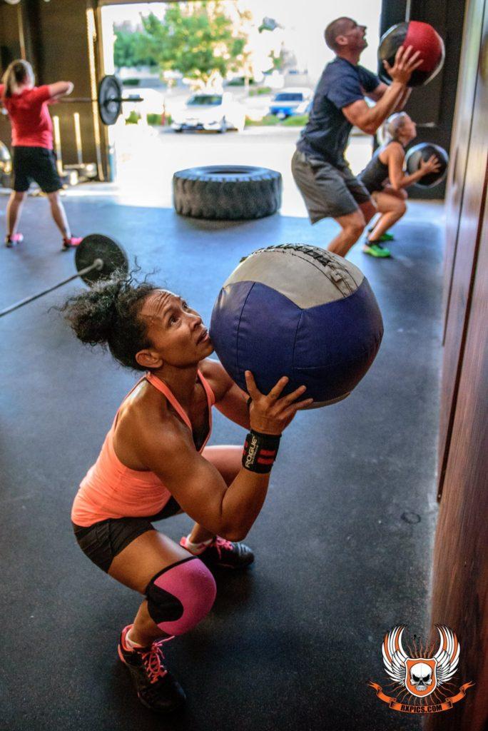 Leay Metten at CrossFit Roseville