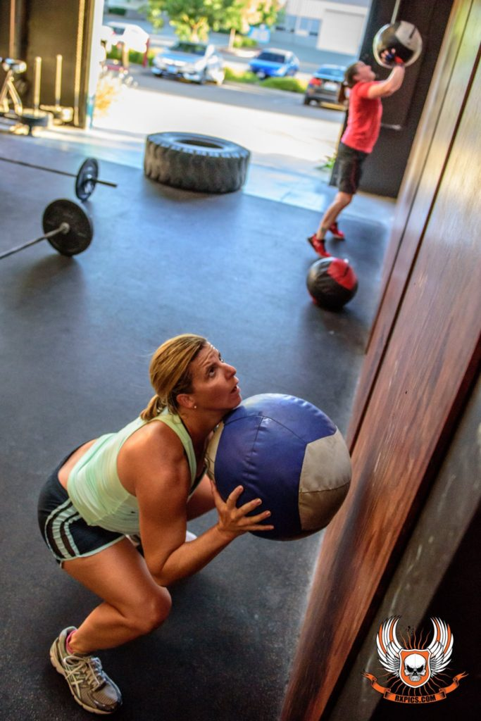 Amy Breitbart at CrossFit Roseville
