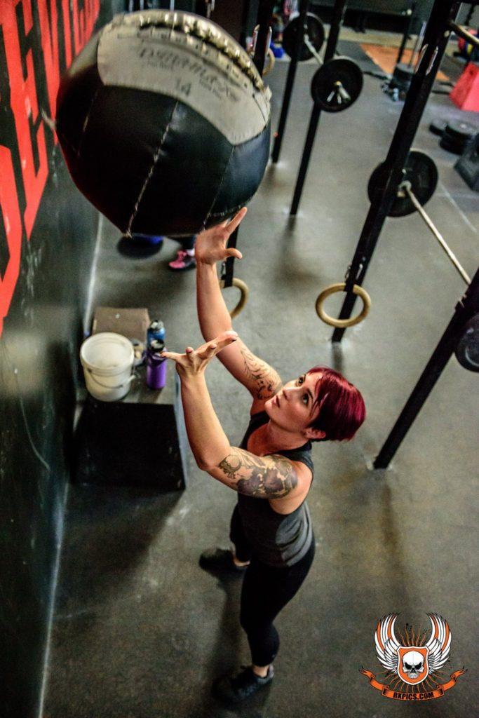 Erica Johnson at CrossFit Roseville