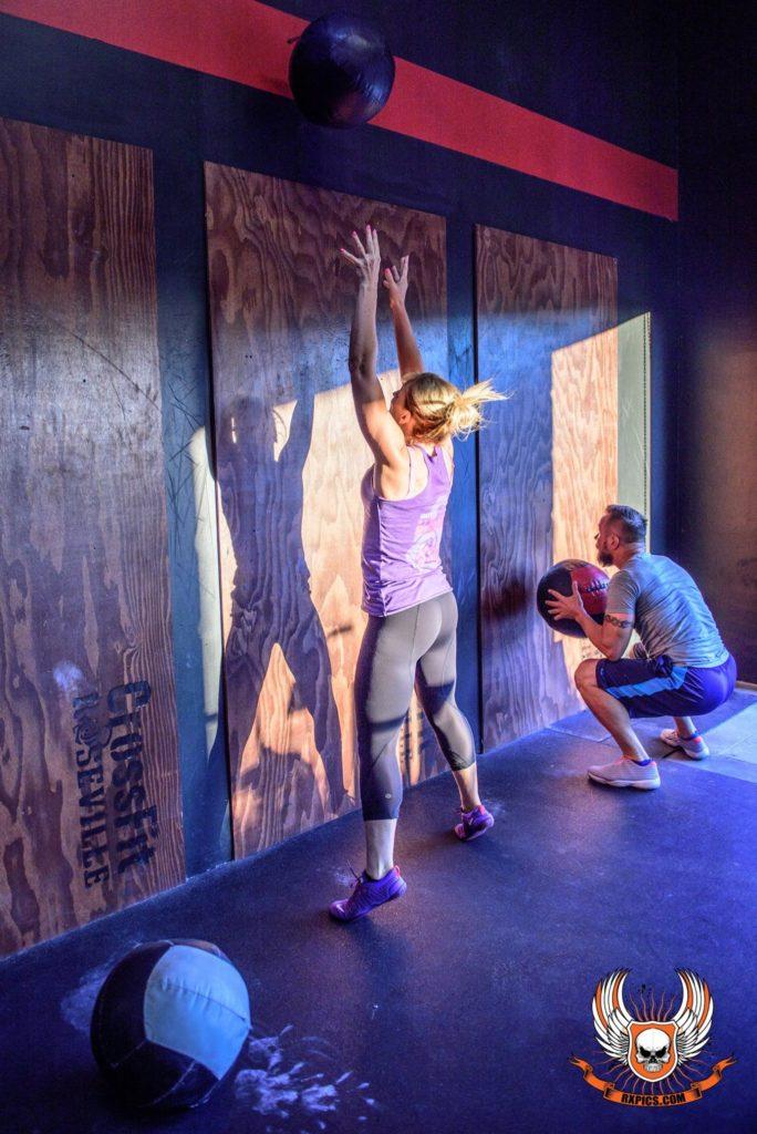 Janet Freeman Hops at Roseville CrossFit