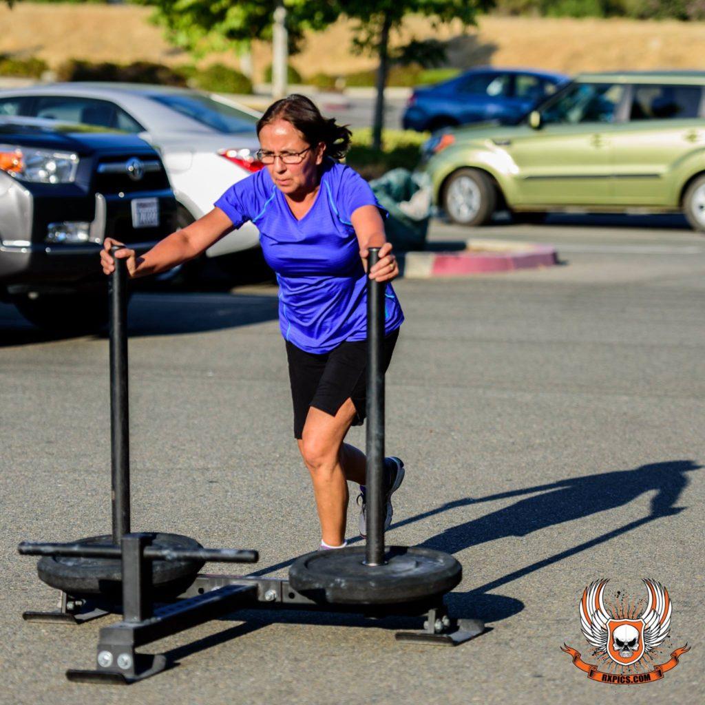Carolina Prout at CrossFit Roseville