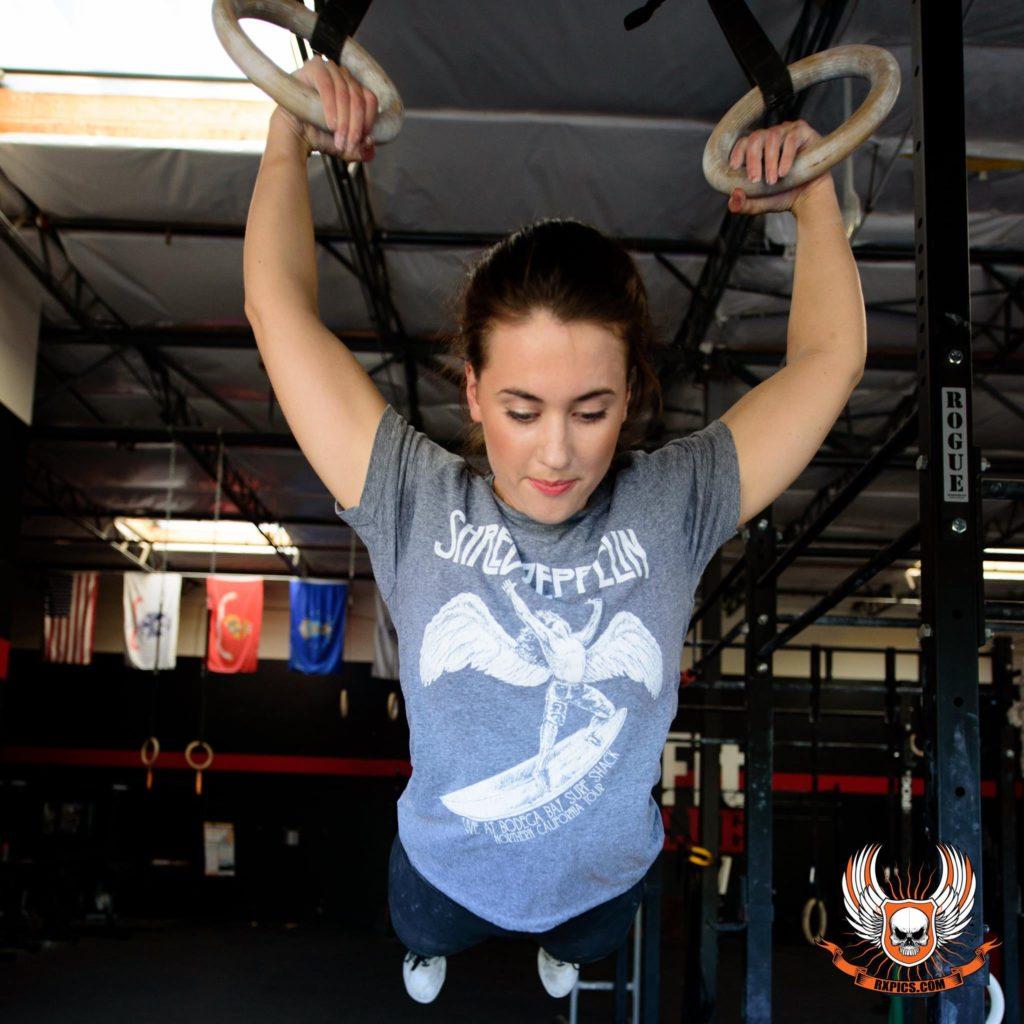 Molly Huusfeldt at CrossFit Roseville