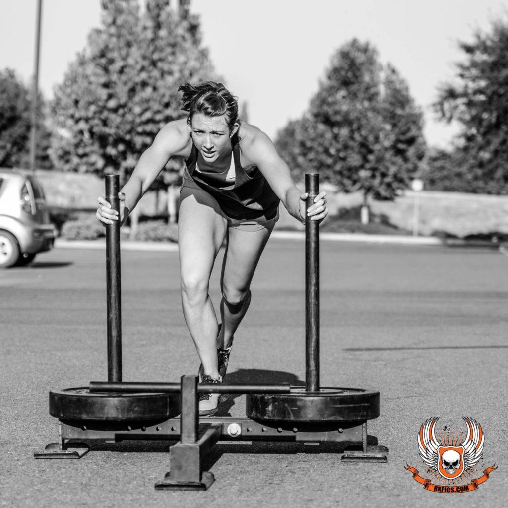 Katie Simon at Roseville CrossFit