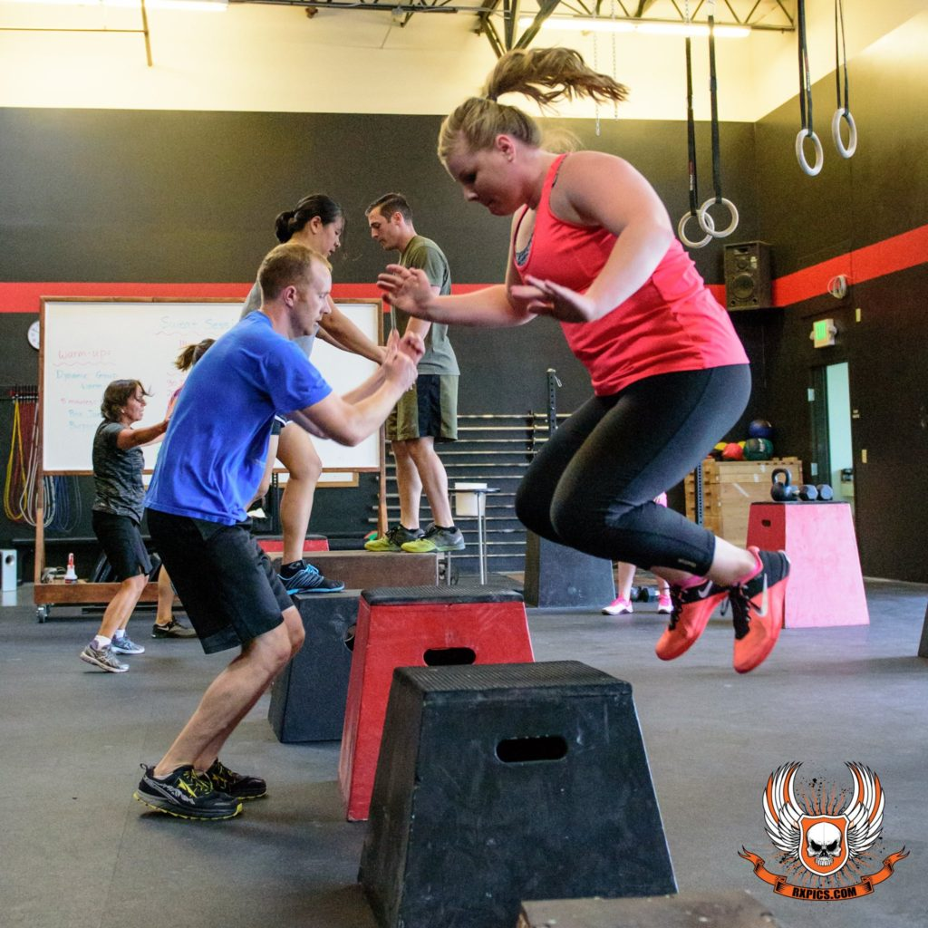 Sweat Sessions Crew at Roseville CrossFit