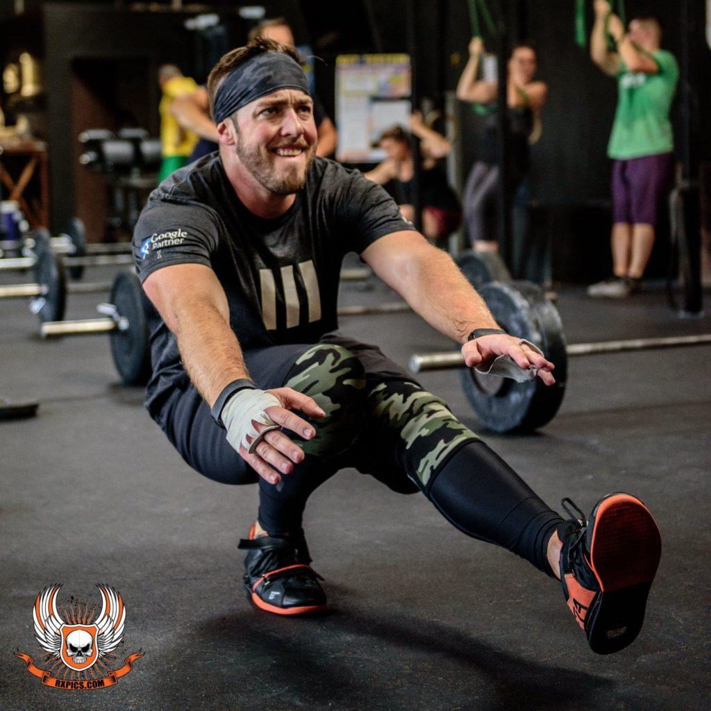 Alan Morte at Roseville CrossFit