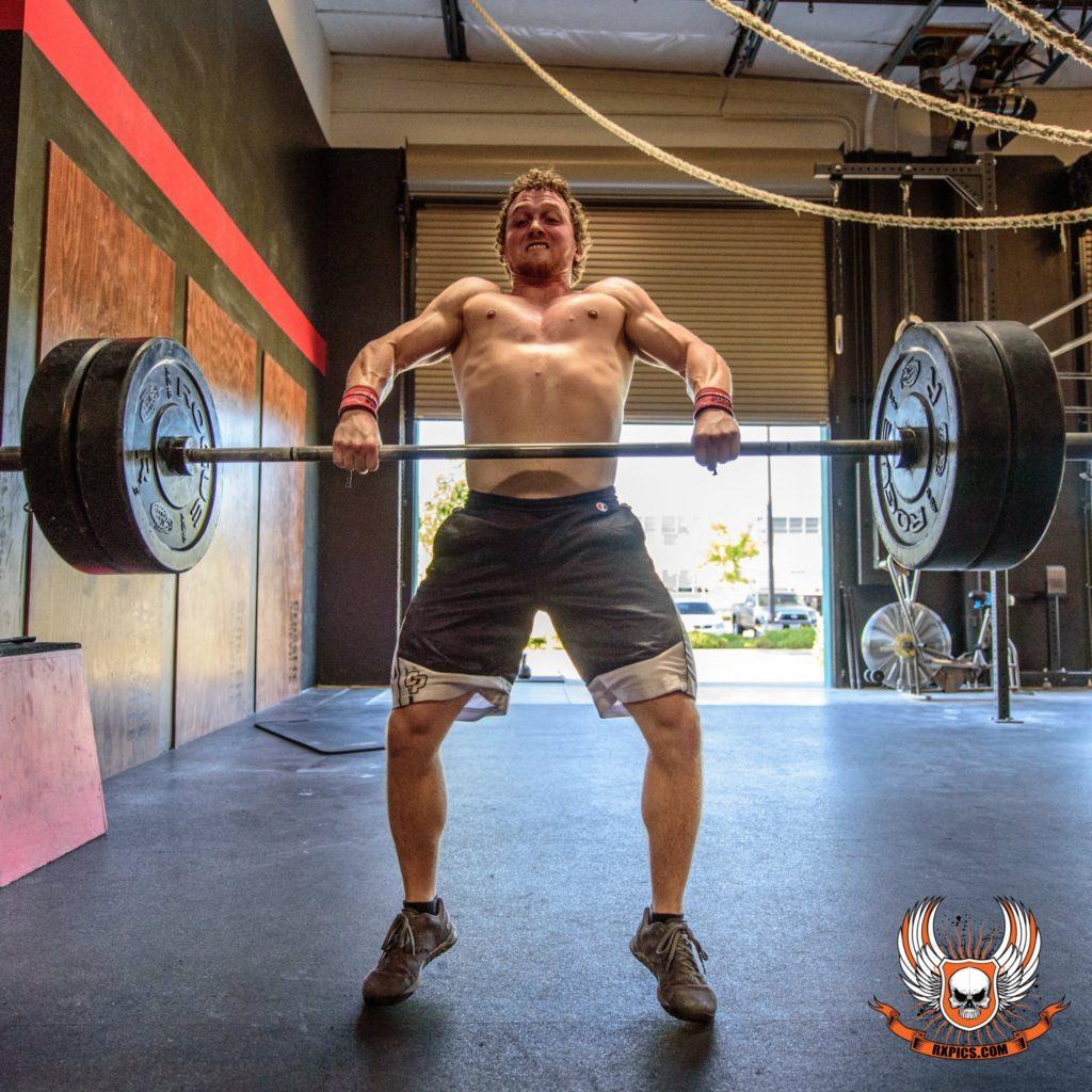 Josh Kyser at Roseville CrossFit