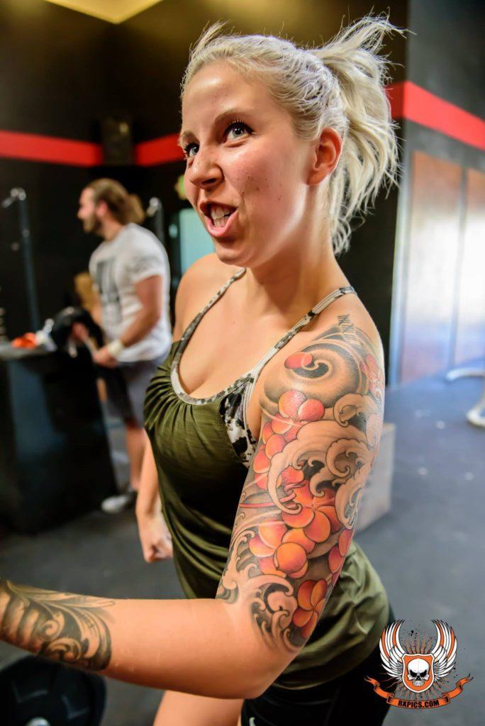 Britt Graves at CrossFit Roseville