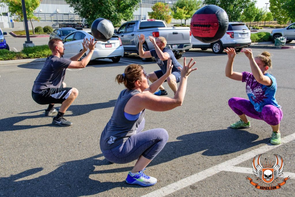 4pm Class at Roseville CrossFit
