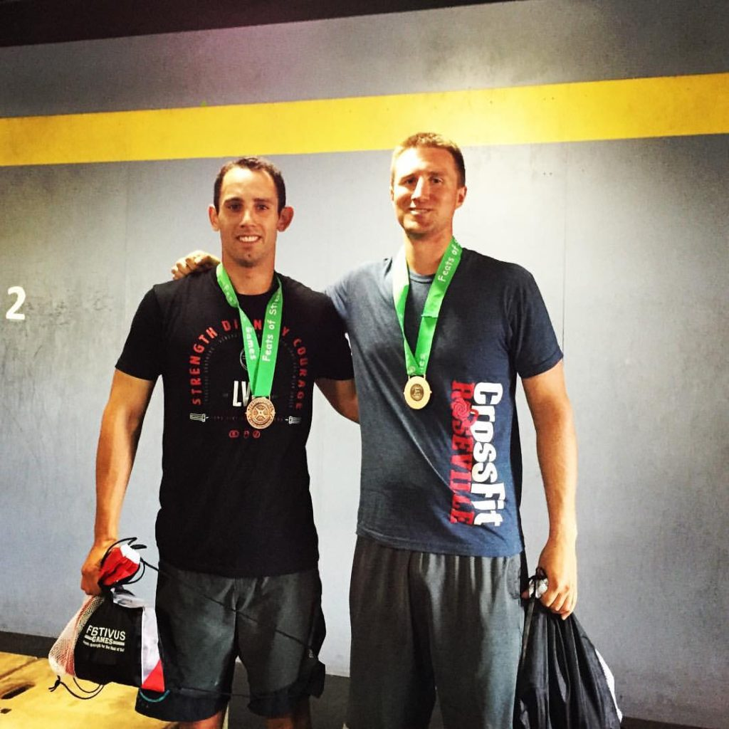 Jeremy Bunting & Chris Nelson with CrossFit Roseville