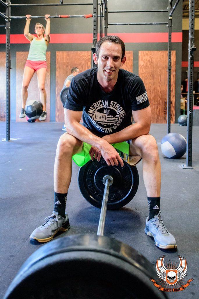 Chris Nelson at Roseville CrossFit