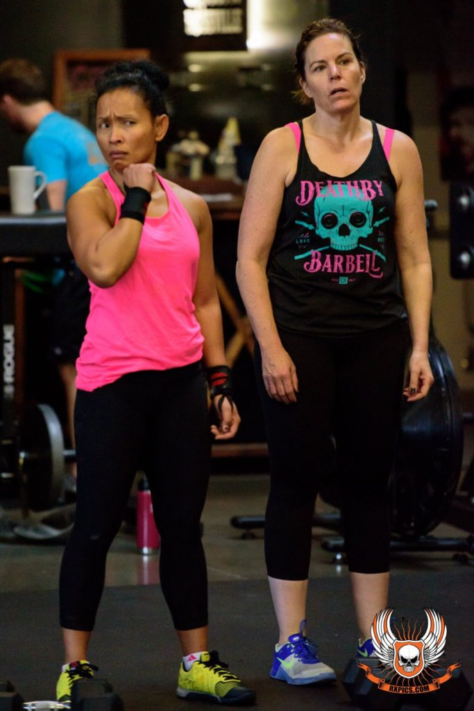 Leay & Mollie at CrossFit Roseville