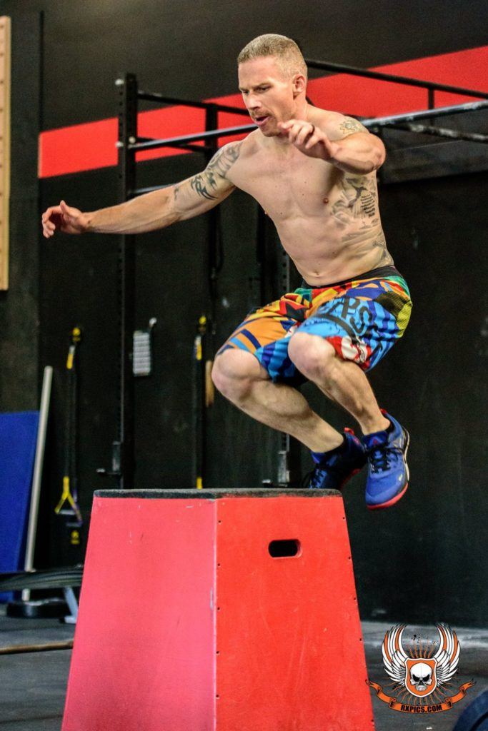 Brian Protheroe at CrossFit Roseville